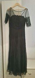 Black Ballgown/cruise dress size 10