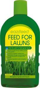 LIQUID FERTILISER FEED FOR LAWNS / LIQUID GRASS FEED