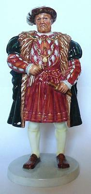 """ROYAL DOULTON  CHARACTER FIGURINE """"HENRY VIII"""" HN3458 LIMITED EDITION"""