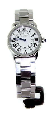 Cartier Ronde Solo Ladies Stainless W6701004