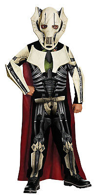 OFFICIALLY LICENSED STAR WARS GENERAL GRIEVOUS CHILD HALLOWEEN COSTUME LARGE - Star Wars General Grievous Halloween Costume