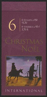 Canada 1875a Booklet BK235b MNH Christmas Creche