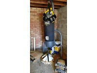 Complete Punch Bag Kit, Stand, Heavy Bag, Gloves and Floor Anchor - *** PRICE LOWERED ***