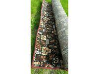Pattrered rug