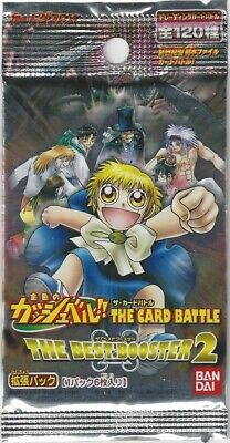 Japanese Zatch Bell! Gash! Bandai Trading Card The Best Booster