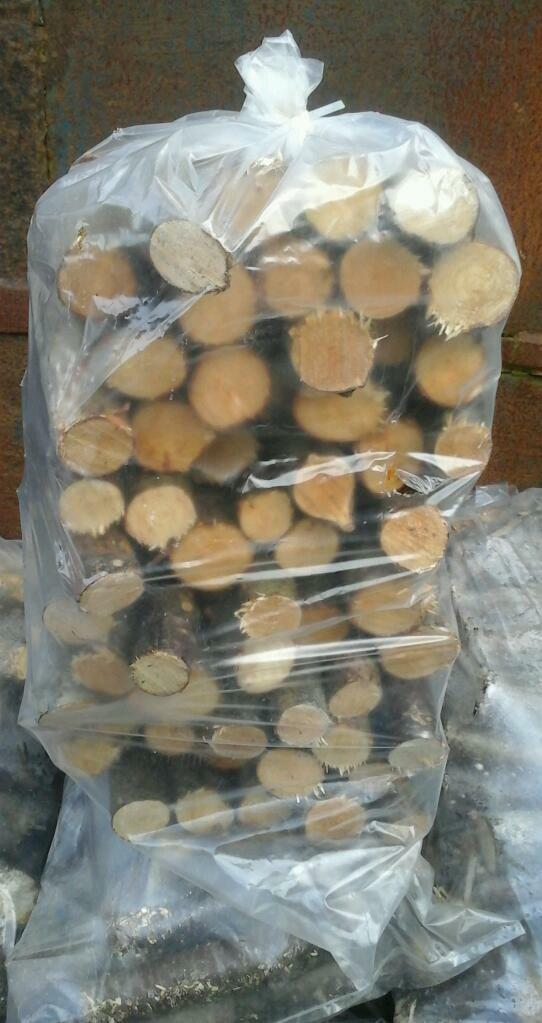 Hardwood sticks blocks