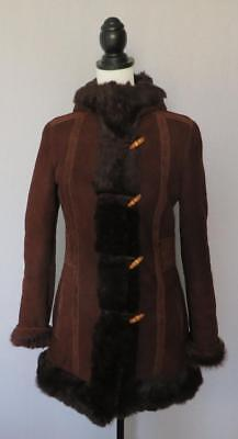 Gucci Vintage Guccissima Shearling Sheepskin Leather Jacket