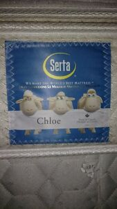 Serta - Chloe Pillow-Top Queen size mattress & boxspring