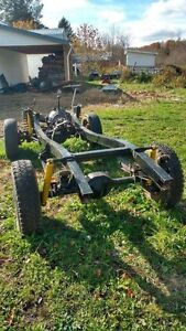 1973 Early Bronco rolling chassis