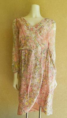 Nwt Sundance Catalog Silk Pink River Walk Dress  80  Off Retail