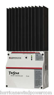 - Morningstar TS-45 TriStar-45 amp 12/24/48 volt  Solar Charge Controller