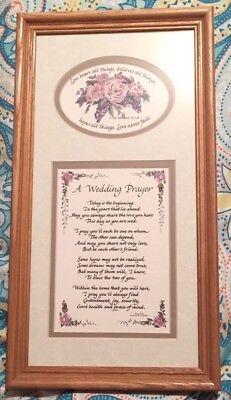 A Wedding Prayer by Helen Bush Framed Picture (A Wedding Prayer)