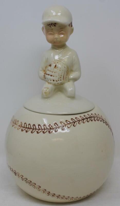 McCoy Boy on Baseball Cookie Jar  221