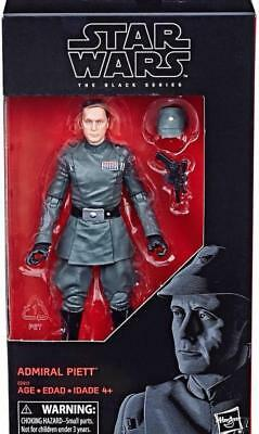 "100% Hasbro Star Wars Black Series 6"" Inch Admiral Piett Figure NEW In Stock"