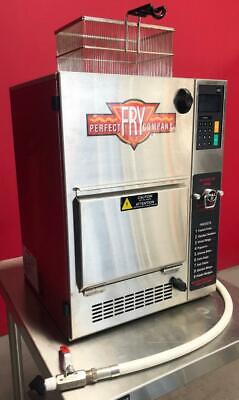 Perfect Fry Pfc570 Counter Top Electric Commercial Digital Ventless Deep Fryer