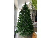 8ft Christmas tree used once