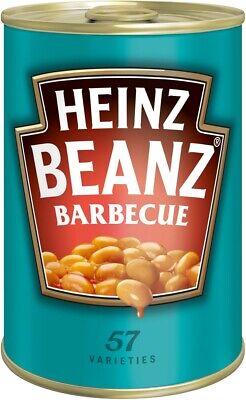 (1000g=5,10€) Heinz Baked Beans Barbecue - BBQ Gebackene Bohnen - 390