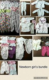 Newborn Girl's bundle