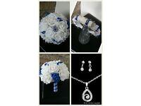 wedding bouquet set