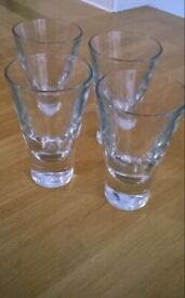 4 Short Habitat Glasses