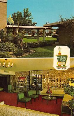 WACO, TX Texas  HOLIDAY INN  Split View w/Lobby  ROADSIDE   Chrome Postcard for sale  Shipping to Canada