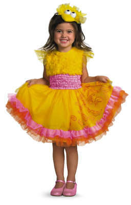 Toddler Sesame Street FRILLY BIG BIRD Dress Costume
