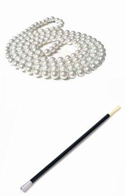 1920s Fancy Dress Charleston Flapper Pearl Beads Cigarette Holder Fancy Dress ()