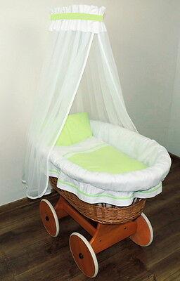 ausstattung fur stubenwagen himmelset gefuttert wei gepolstert stubenwagenset 9. Black Bedroom Furniture Sets. Home Design Ideas