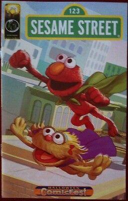 Sesame Street (2013) #1  - Halloween ComicFest Comic Book - Ape Entertainment  - Sesame Street Halloween Book