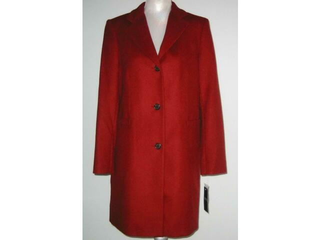 NWT Ralph Lauren Wool Blend REEFER Coat Women 12 Red Siena MSRP$220