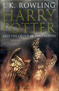 Harry Potter and The Order of The Phoenix First Edition