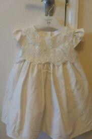 Debenhams RJRocha occasional baby girl dress, 3-6 mths