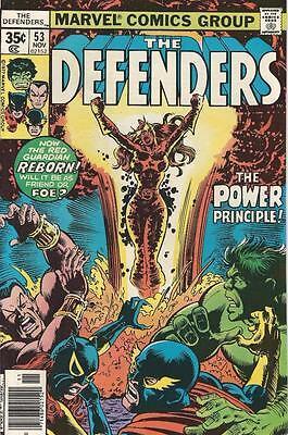Marvel Comics The Defenders Vol 1 (1972 Series) # 53 Very Fine  8.0
