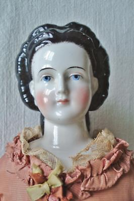 """20"""" Antique Conta & Boehme China Doll  Beautifully Dressed"""