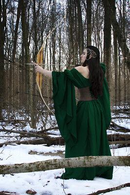 Medieval Renaissance Faire Huntress Lady Archeress Gown Dress PRE ORDER