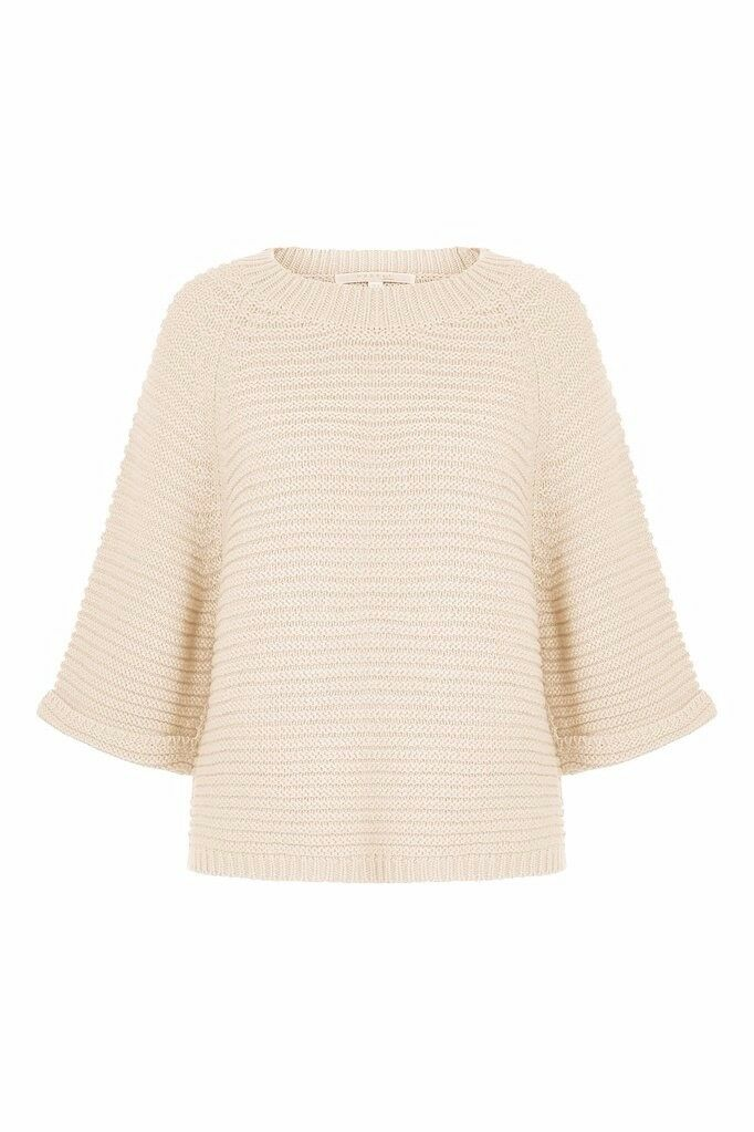 Nougat London - Ivory Lupin Boxy Jumper Size 10 (brand new with tags)