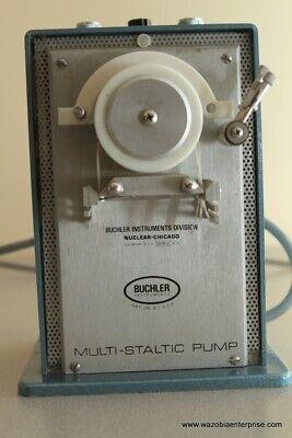 Buchler Instruments Mutlti-static  Mutlti Static Pump