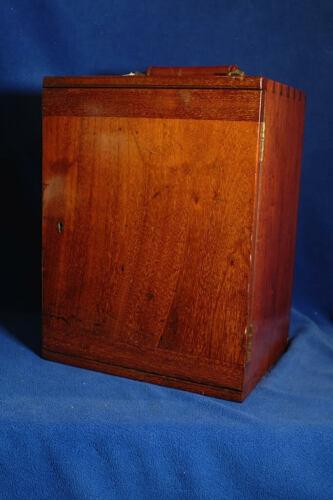 Watson Model F Microscope in a Gorgeous Cabinet