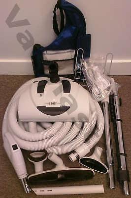 GENUINE Vacuflo Edge electric central vacuum kit w/ 35' hose