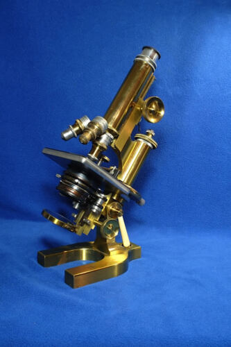 Bausch and Lomb Model CA Microscope s/n 38651 Antique Exquisite!
