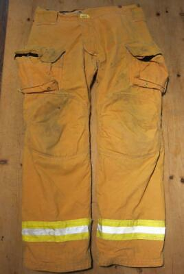 Lion Janesville Firefighter Fireman Turnout Gear Pants Size 42l - B Uu1