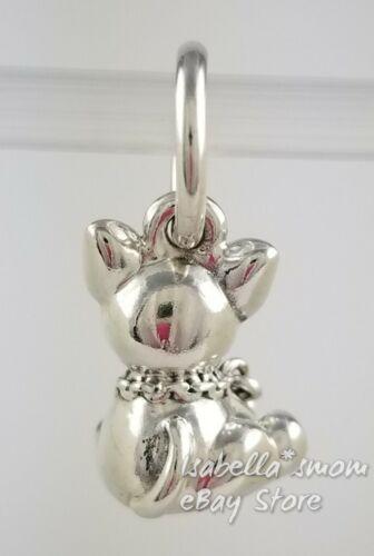 Bull terrier authentique pandora argent / Émail chien pendantes charme