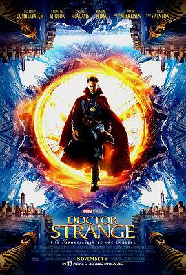 MARVEL DOCTOR STRANGE 2016 DS 27x40  FINAL MOVIE POSTER ORIGINAL B. CUMBERBATCH
