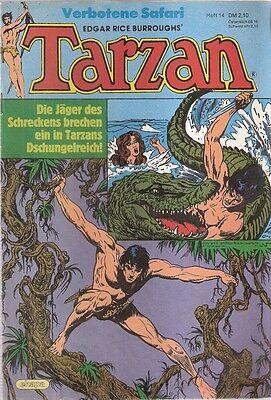 Comic - Tarzan Heft Nr. 14 von 1983 - Ehapa Verlag deutsch