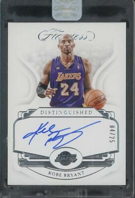 2018 Panini Flawless Distinguished Kobe Bryant 04/25 Lakers Auto Autograph