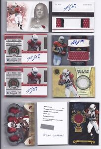2011 Panini Ryan Williams Lot(8) Auto Finest Playbook Gold Crown Contenders