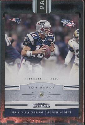 2016 Panini Eternal Diamond Super Bowl XXXVI #PENE10 Tom Brady 2/5