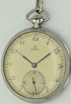 RARE antique WWII Omega watch awarded to Bulgarian Military Officer c1941