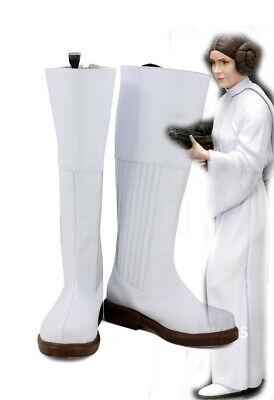 STAR WARS Leia Organa Solo Princess Cosplay Kostüme boots Stiefel Schuhe - Princess Leia Star Wars Kostüm