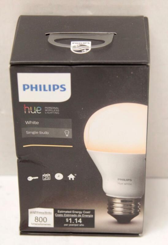 Philips hue A19 Smart LED Light Bulb White Only 455295